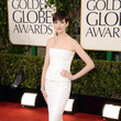 Anne Hathaway at the 2013 Golden Globe Awards