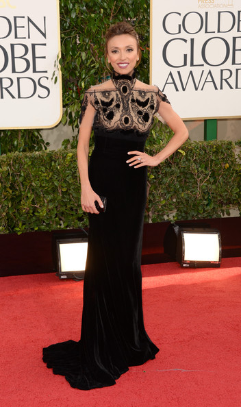 Giuliana Rancic at the 2013 Golden Globes