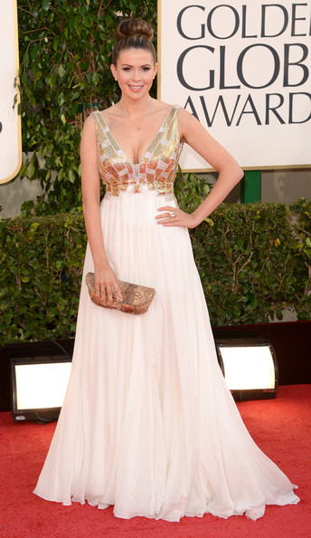 Carly Steel at the 2013 Golden Globes