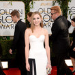 Laura Carmichael in Viktor & Rolf at the 2014 Golden Globe Awards