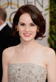 Michelle Dockery kept it timeless with this bob at the Golden Globes.