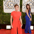 Emma Watson in Dior at the 2014 Golden Globe Awards