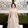 Michelle Dockery in Oscar de la Renta at the 2014 Golden Globe Awards