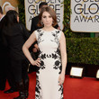 Zosia Mamet in Reem Acra at the 2014 Golden Globe Awards