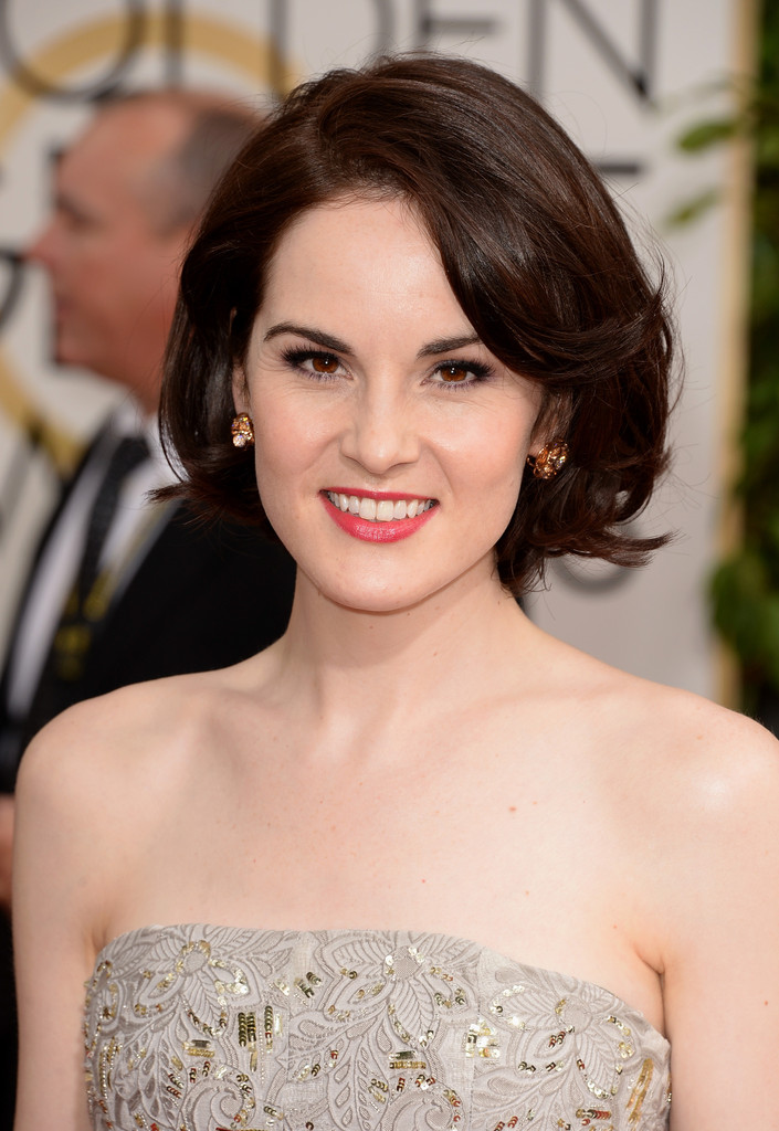 Michelle Dockery Best Hair And Makeup At The 2014 Golden