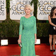 Helen Mirren in Jenny Packham at the 2014 Golden Globe Awards