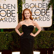 Jessica Chastain at the Golden Globe Awards 2014