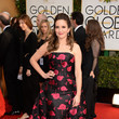Tina Fey in Carolina Herrera at the 2014 Golden Globe Awards