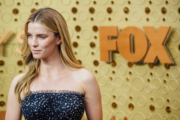 More Pics of Betty Gilpin Long Center Part (1 of 6) - Long Hairstyles Lookbook - StyleBistro [image,hair,beauty,hairstyle,blond,shoulder,dress,fashion,lip,fashion model,long hair,arrivals,betty gilpin,emmy awards,filters,california,los angeles,microsoft theater]