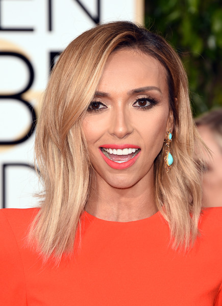 Giuliana Rancic sported a trendy layered cut at the Golden Globes.