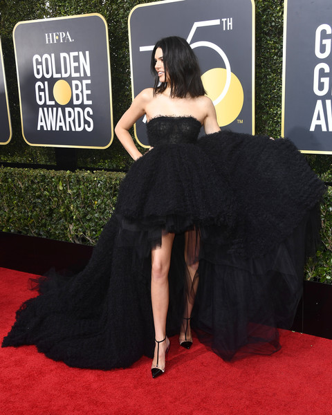 In Giambattista Valli Couture At The 2018 Golden Globes