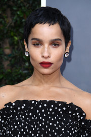 Zoe Kravitz wore her signature pixie at the 2020 Golden Globes.