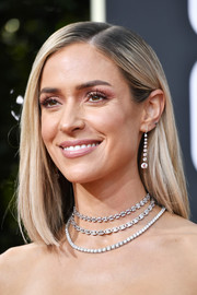 Kristin Cavallari opted for a simple yet elegant mid-length bob when she attended the 2020 Golden Globes.