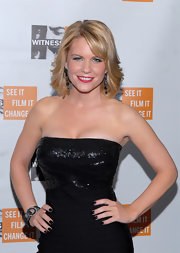 Carrie Keagan matched her inky black nails with her sexy shimmering LBD at the 7th Annual Focus for a Change Benefit.