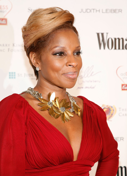 More Pics Of Mary J Blige Short Straight Cut 5 Of 8 Short