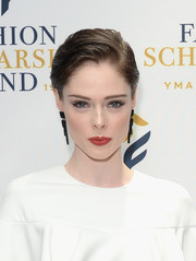 Coco Rocha flaunted an expertly applied cat eye!