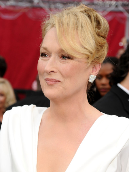 Meryl Streep's Formal Updo