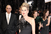 Sharon Stone Does Drama at the Oscars in a Beehive Hairstyle