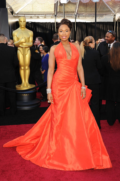 Jennifer Hudson in Versace