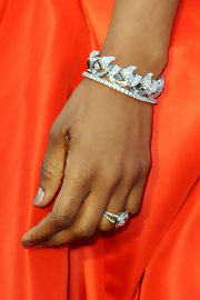 Jennifer Hudson was full of sparkle at the 83rd Annual Academy Awards with a glimmering bracelet.