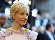 Cate Blanchett looked regal at the 83rd Annual Academy Awards. The actress styled her locks in a side swept straight cut.