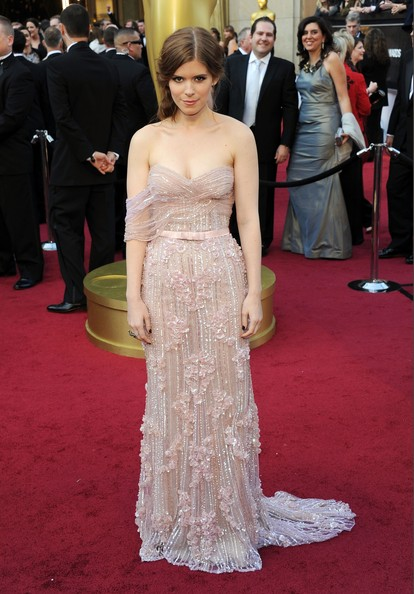 Kate Mara in Jack Guisso Couture