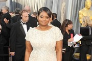 Actress Octavia Spencer arrives at the 84th Annual Academy Awards held at the Hollywood & Highland Center on February 26, 2012 in Hollywood, California.
