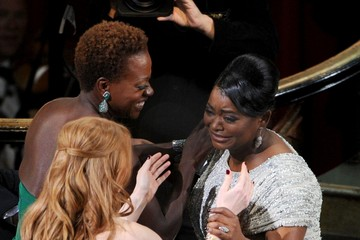 Viola Davis Jessica Chastain 84th Annual Academy Awards - Show