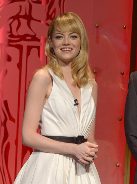 More Pics of Emma Stone Cocktail Dress (2 of 32) - Emma Stone Lookbook - StyleBistro