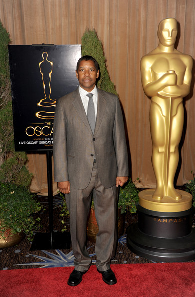 More Pics of Denzel Washington Men's Suit (1 of 11) - Men's Suit Lookbook - StyleBistro
