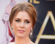Glossy pink lips gave Amy Adams' Oscars look a subtle sweetness.
