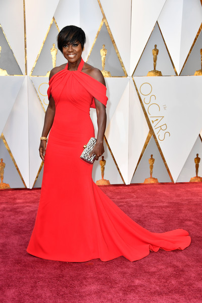 More Pics of Viola Davis Off-the-Shoulder Dress (1 of 42) - Dresses & Skirts Lookbook - StyleBistro
