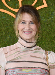 Laura Dern pulled her hair back into a loose ponytail for the Veuve Clicquot Polo Classic.