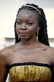Danai Gurira attended the 2019 Oscars wearing her hair in long cornrows.