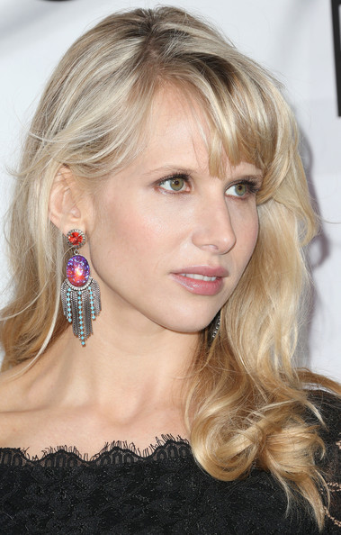 More Pics of Lucy Punch Long Curls with Bangs (1 of 9) - Long Curls with Bangs Lookbook - StyleBistro
