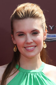 Maggie Grace attended the 9th Annual Stuart House Benefit wearing her hair in a half-up, half-down style.