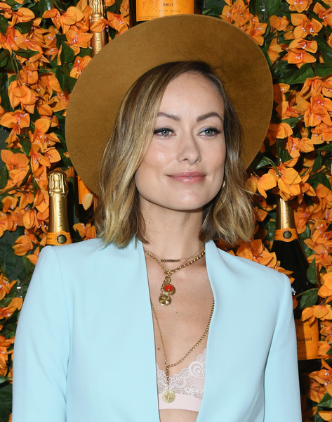 More Pics of Olivia Wilde Pantsuit (1 of 30) - Olivia Wilde Lookbook - StyleBistro