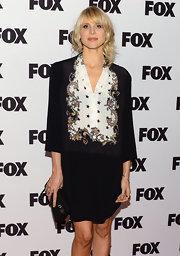Lucy Punch looked serious yet sophisticated in this skirt suit at the Salute to Fox Comedy event.