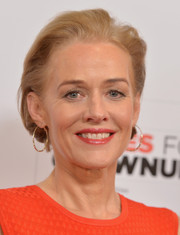 Penelope Ann Miller sported a brushed-back bob at the 2015 Movies for Grownups Awards.