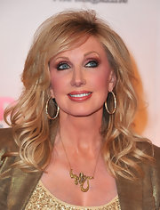 Morgan Fairchild wore an unusual snake pendant necklace to the Movies for Grownups Awards.