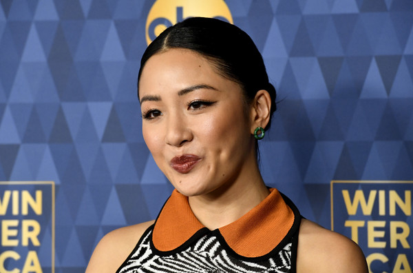 More Pics of Constance Wu Costume Hoops (5 of 11) - Hoop Earrings Lookbook - StyleBistro [winter press tour 2020 - arrivals,face,head,forehead,neck,games,black hair,constance wu,pasadena,california,the langham huntington,abc television,winter press tour 2020,constance wu,fresh off the boat,american broadcasting company,television,image,actor,television critics association,photograph,hawtcelebs]