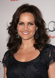 Carle Gugino accented her gorgeous green eyes with metallic copper shadow at a screening of 'I Melt With You.'