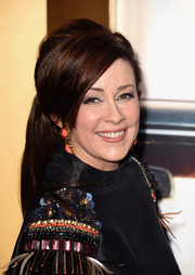 Patricia Heaton brought a retro vibe to the Black & Red Ball with this teased ponytail.