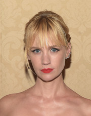 January Jones stayed on trend with a Jack Vartanian ear cuff at the 2014 Emmy Awards.