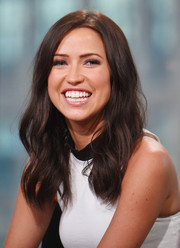 Kaitlyn Bristowe looked pretty with her long waves at the AOL BUILD Speaker Series.