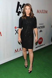 Jillian showed off just how fit she was in a tight LBD at the Maxim Party.