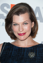 Milla Jovovich was classic and elegant wearing this bob at the ASPCA event.