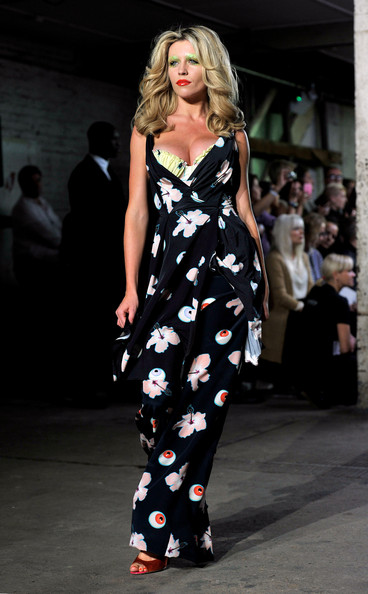 Abbey Clancy Print Dress