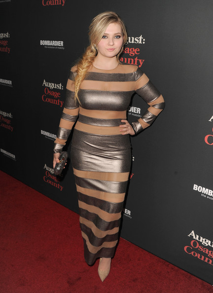 Abigail Breslin Evening Dress
