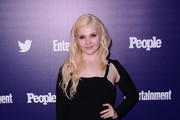 Abigail Breslin Shrug Sweater